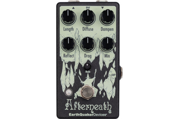 Earthquaker Devices Announces the Afterneath V3 Reverb Pedal