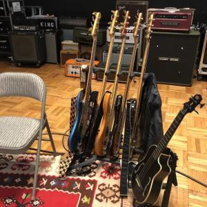 Jimbo Hart's Recording Basses