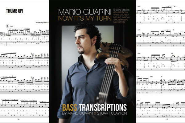 "Mario Guarini Publishes ""Now It's My Turn"" Bass Transcription Book"