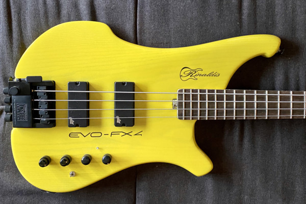 Bass of the Week: Rinaldis Custom Basses EVO-FX4