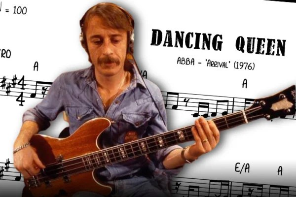 "Bass Transcription: Rutger Gunnarsson's Bass Line on ""Dancing Queen"" by ABBA"