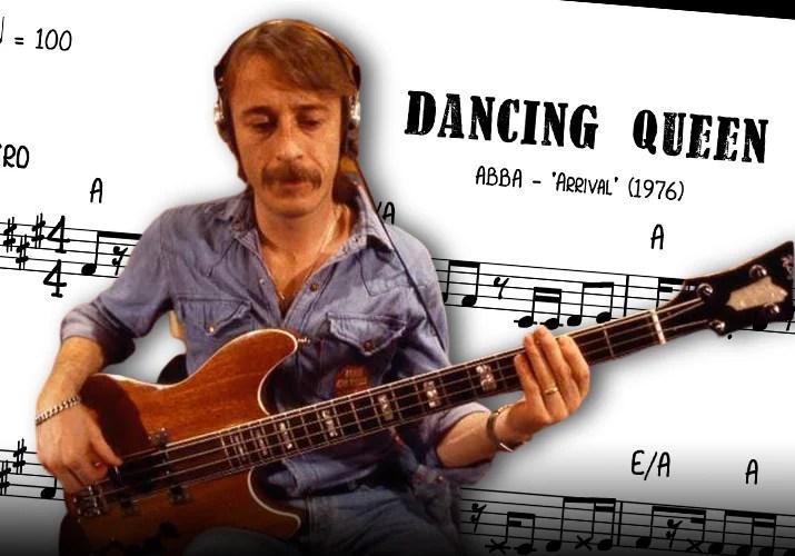 """Bass Transcription: Rutger Gunnarsson's Bass Line on """"Dancing Queen"""" by ABBA"""