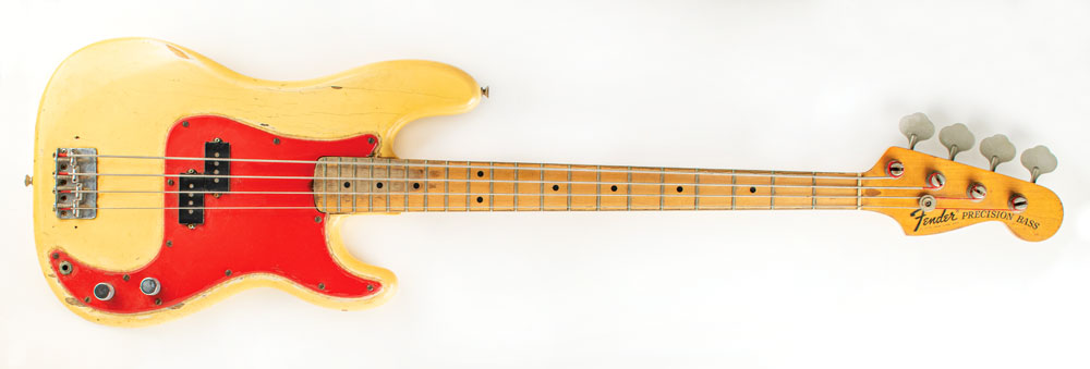 Dee Dee Ramone Fender Precision Bass