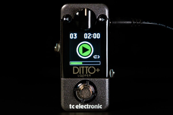 TC Electronic Unveils the Ditto+ Looper Pedal