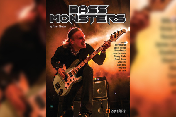 "Stuart Clayton Publishes ""Bass Monsters"" Transcription Book"
