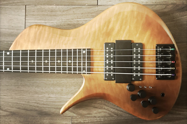 Bass of the Week: Erizias Basses SingleCut Custom 5