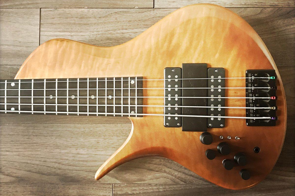 Bass of the Week: Erizias Basses SingleCut Custom 5