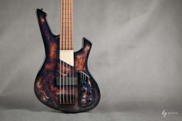 Bass of the Week: GV Guitars Fang – Chaozz Funk