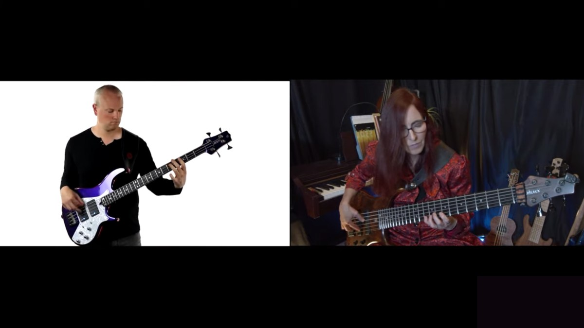 Mark J. Smith and Ariane Cap: J.S. Bach Prelude #2