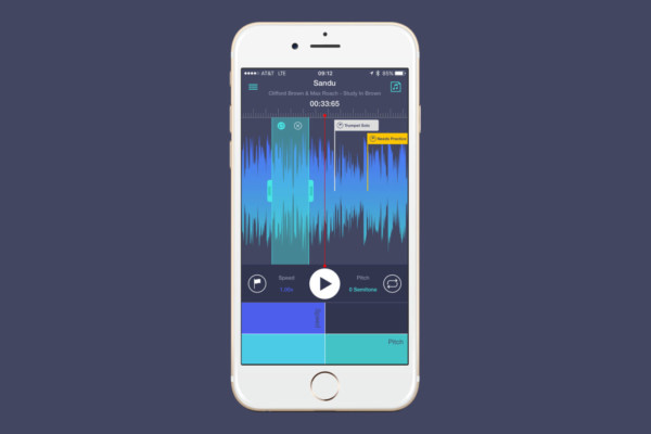 Transcribe+ 1.5 App Splits Audio into Instrument Tracks