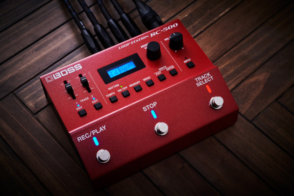 Boss Unveils the RC-5 and RC-500 Looper Pedals