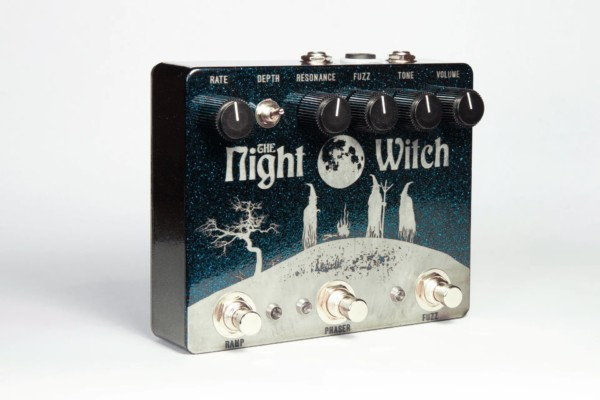 MSL Pedals Introduces the Night Witch Fuzz + Ramping Phaser Pedal