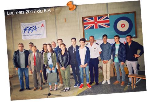 Lauréats 2017 du BIA