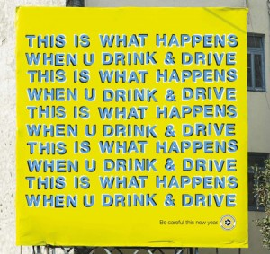 THIS IS WHAT HAPPENS WHEN YOU DRINK & DRIVE