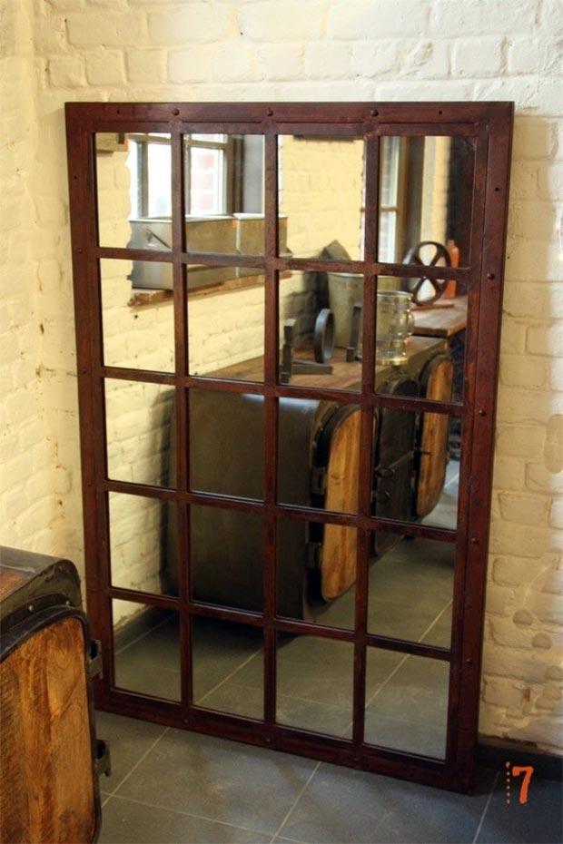 Miroir Industriel Porte