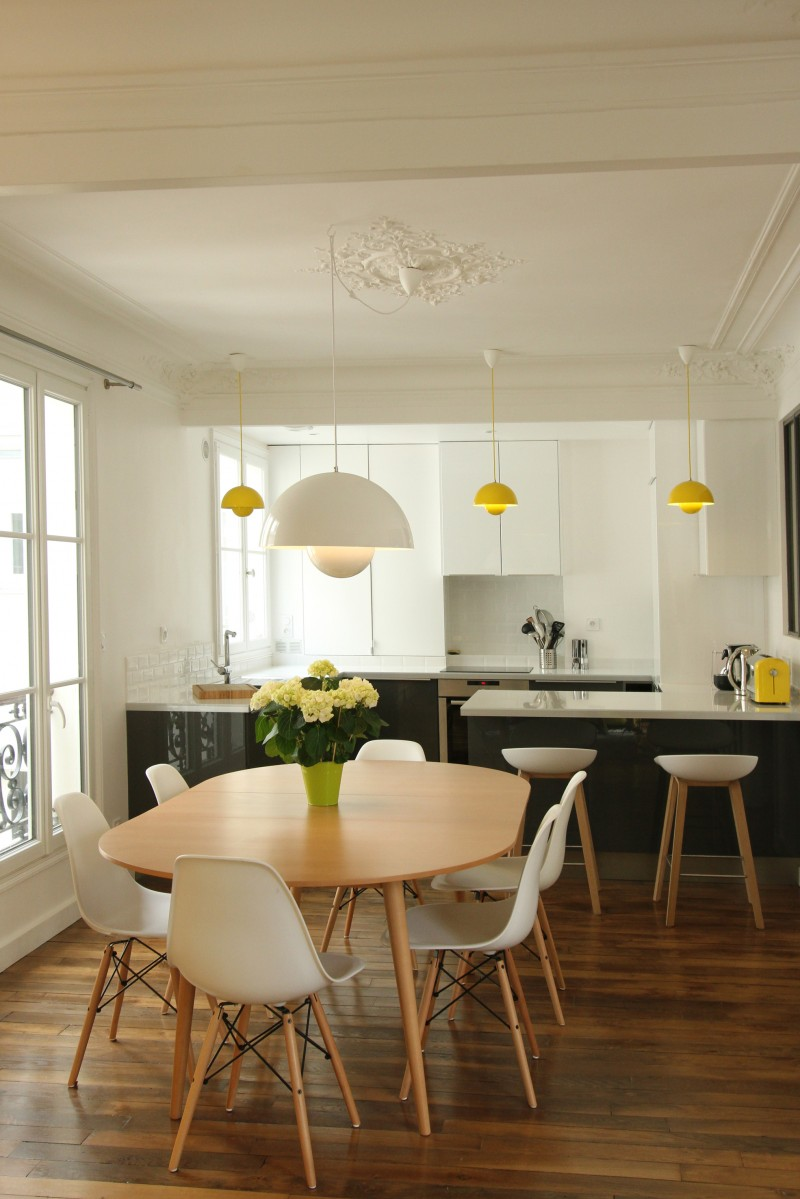 Rnovation Dun Appartement Haussmannien Par Camille Hermand