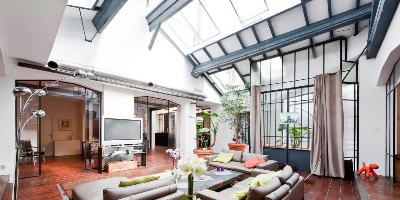 Loft Dans Un Ancien Atelier De Photographe Lyon