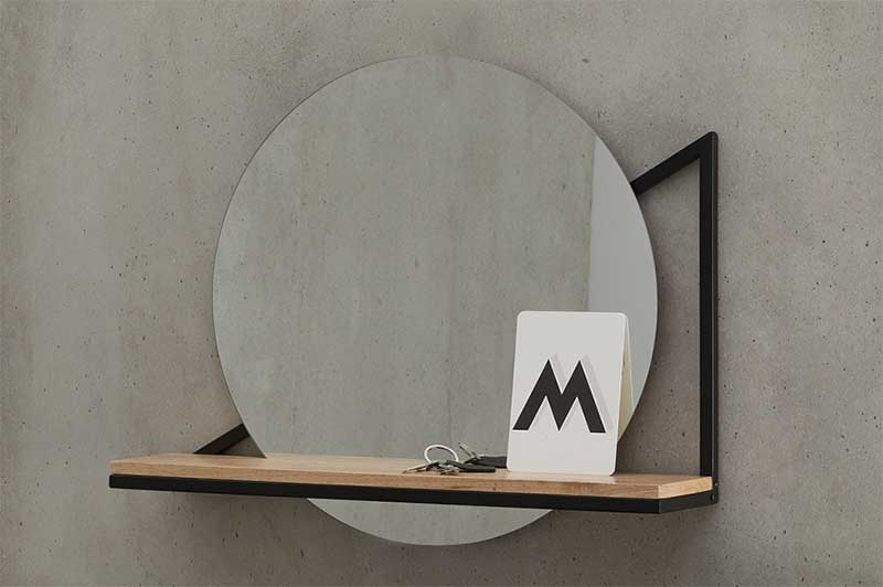 22 idees deco de miroir avec rangement