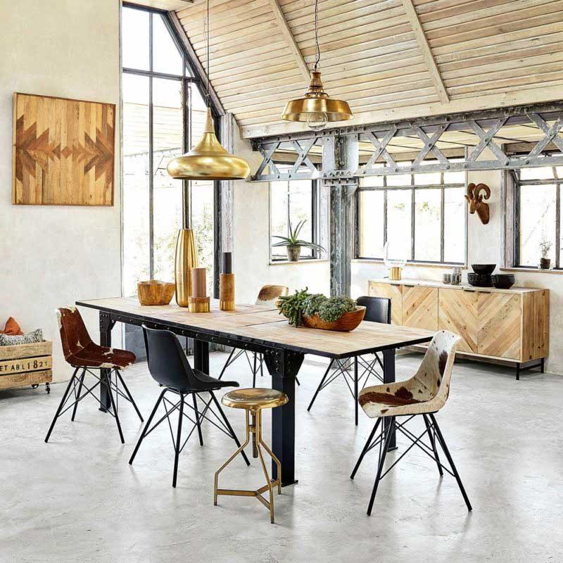 table industrielle 17 idees deco en