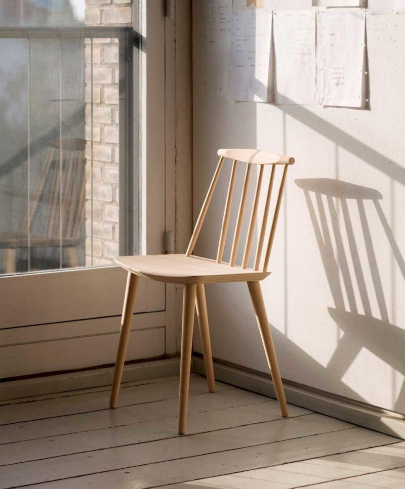 chaise scandinave 17 modeles en bois