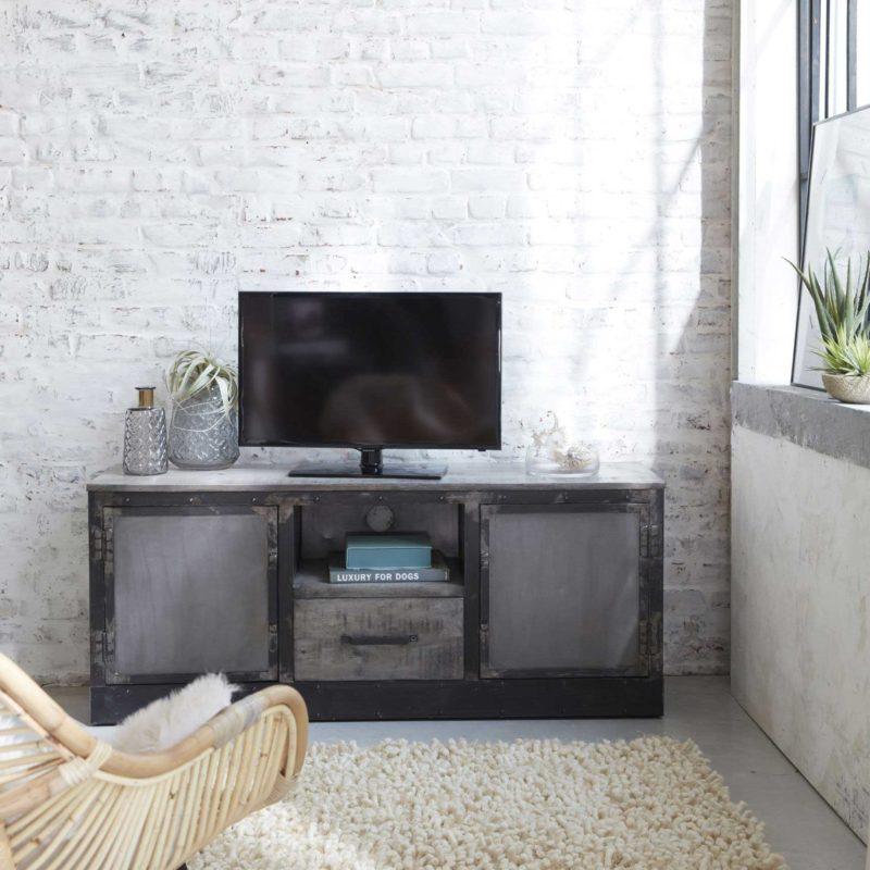 meuble tv industriel 21 modeles pour