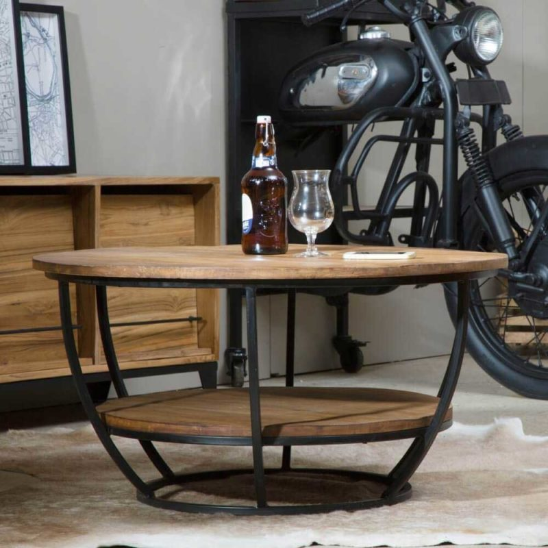 table basse industrielle 23 idees