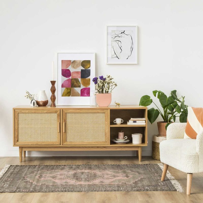 meuble tv scandinave 18 modeles style