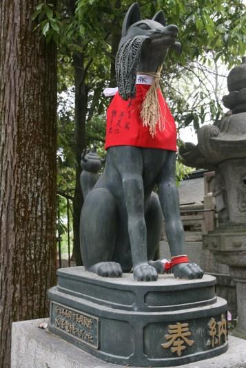 Kitsune du temple d'Inari