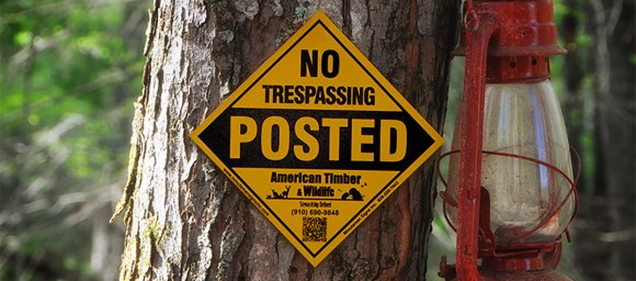 Buy No Trespassing Signs