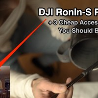 DJI Ronin-S Review & 3 Accessories You Should Buy