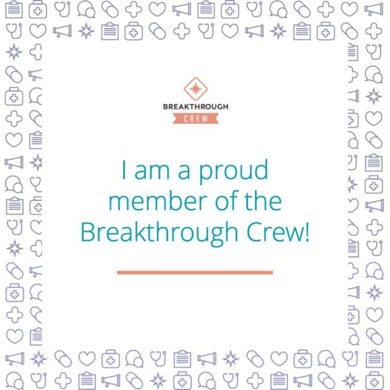breakthrough crew badge