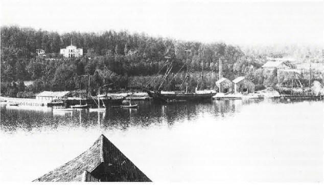 Da den norligste delen av Nøtterøy ble slukt av Tønsberg