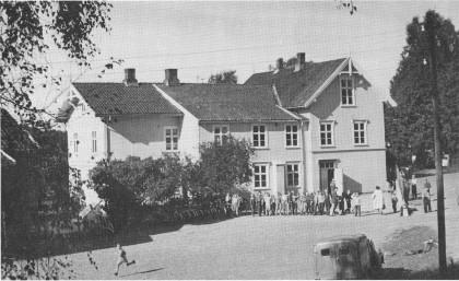 Herstad skole - Nøtterøys første skolehus - her påbygd.