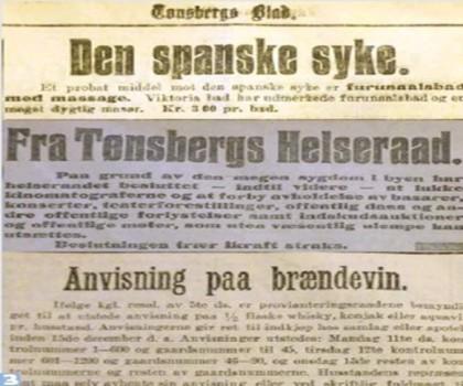 Fra Tønsbergs blad