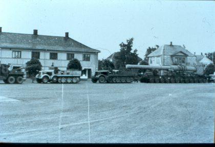 Transport av løp 1949