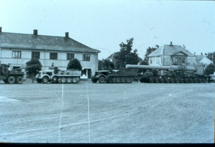 Transport av løp 1949