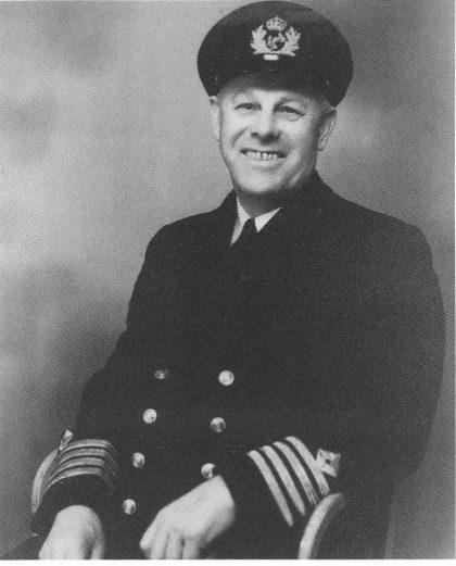 Kaptein Samuel Isaksen fra Fjellveien, Teie, som deltok i 70 konvoier under krigen og kom fra det uten en skramme.
