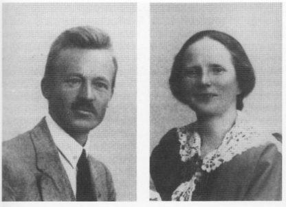 Ingvar og Julie Dillan. (Foto utlånt av Gry Dillan)