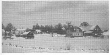 Kjølelia i januar 1946. (Foto utlånt av Tore Paulsen.)