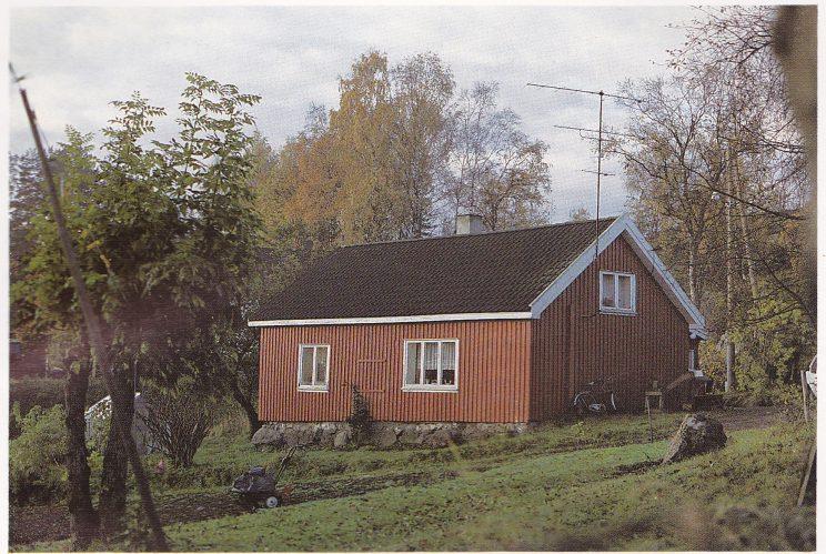 Trygve Brattelis barndomshjem på Hovland, slik det ser ut i dag.