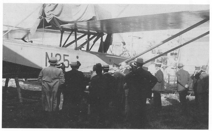 N 25 som deltok i Roald Amundsens ferd mot Nordpolen i 1925, var en av utstillingens hovedattraksjoner. Hjalmar Riiser-Larsen klarte å starte N 25 fra isflaket. N 24 måtte oppgis.