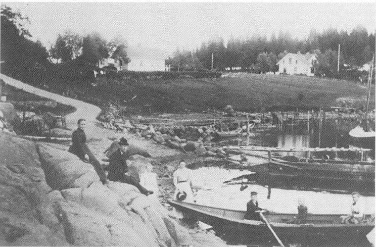 Samuel Hansen Hellen bodde hos fergemannen i Hella.
