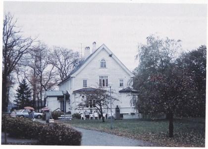 «Ekeberg» — Thorvald Bergs hjem — som ble bygget i 1901, i dag eldresenter.