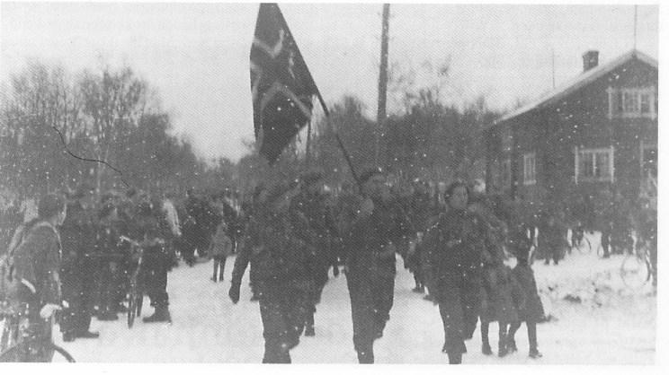 Norske soldater i Kirkenes.