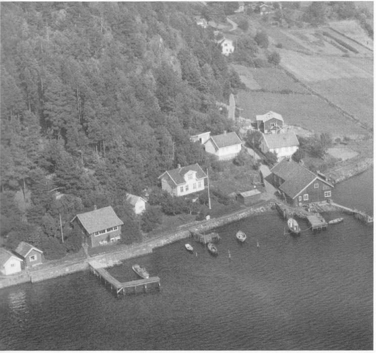 Landhandleriet i Buerstad ble flyttet ned til sjøen til eiendommen Sydvik. Her ble oppført butikk med sjøbu.