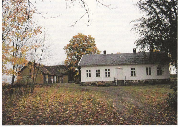 Fagertun i 1996, under restaurering av Nøtterøy Historielag