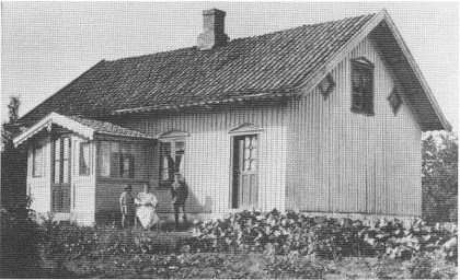 «Munkehagen», Søndre Munkerekka ca. 1930.