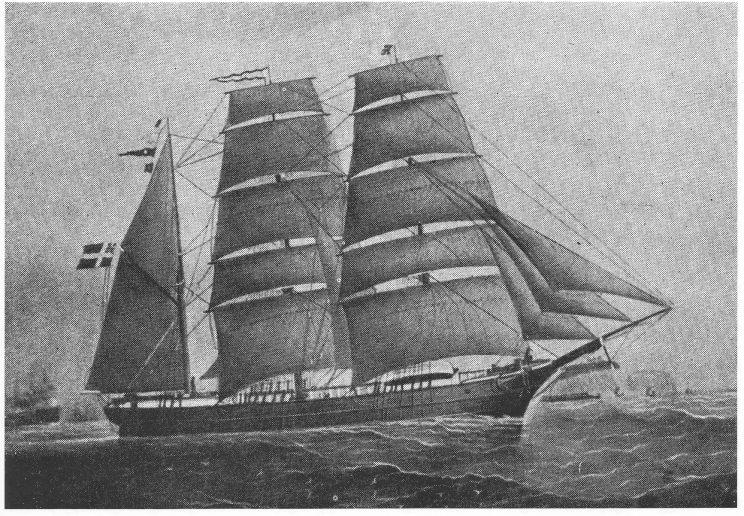 «Mary», skipper L. N. Bjønnes. (Foto: Lorens Berg)