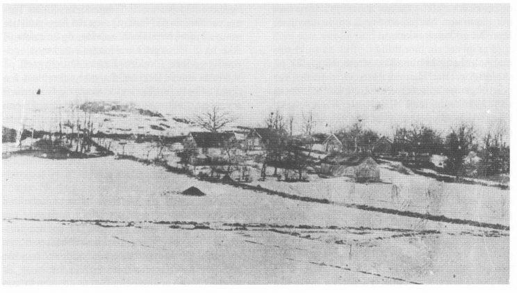 Kjølelia der Ragnhild Paulsen vokste opp. (Foto Tore Paulsen)
