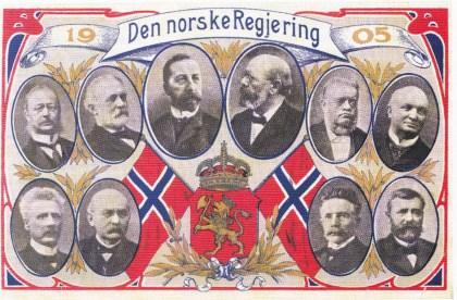 Knapt noen norsk regjering har stått sterkere i opinionen enn Chr: Michelsens ministerium i 1905. Her var mannen som viste handlekraft og hugg den betente unionsknuten over med bestemt sverdkraft. De andre statsrådene kunne sole seg i glansen av statsministeren.